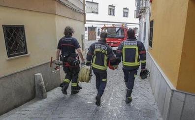 Susto por un incendio en Pinos Puente