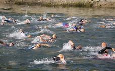 Campeones del agua, la tierra y la bici en el durísimo Triatlón de Sierra Nevada