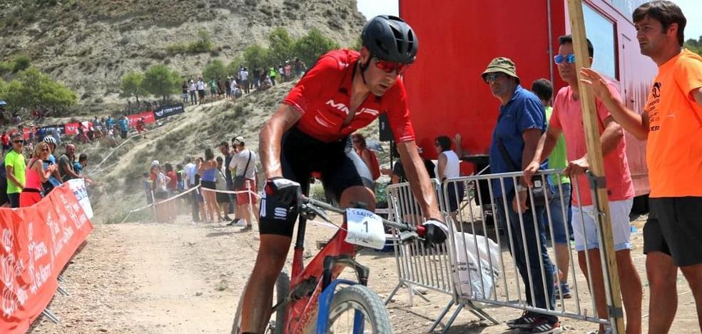 Exhibición de David Valero en el Campeonato de España