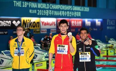 Todo el mundo, salvo la FINA, aplaude la valentía de Horton ante Sun Yang