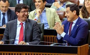El bipartito andaluz mira con recelo un Gobierno de socialistas y «populistas»