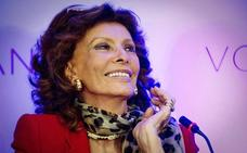 Sophia Loren vuelve al cine de la mano de su hijo