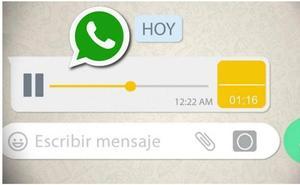 La esperada novedad que llega a los audios de WhatsApp