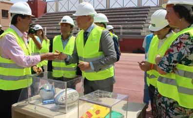 El vetusto Estadio de la Juventud 'Emilio Campra' empieza las obras para rejuvenecer
