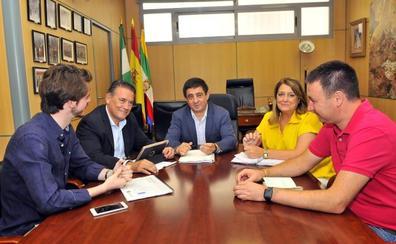La Diputación y el Ayuntamiento estrechan lazos para impulsar proyectos