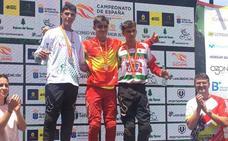 Mario Ruiz, plata en el Campeonato de España cadete de descenso