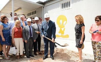 La Junta comienza las obras del nuevo colegio de El Chaparral en Albolote