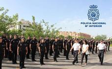 La Policía Nacional de Granada recibe a 75 nuevos agentes