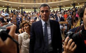 Sánchez pierde la primera votación de la investidura y tiene la segunda en el alero