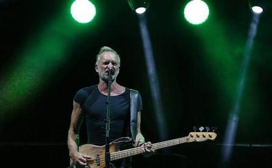 Sting brilló con sus temas clásicos