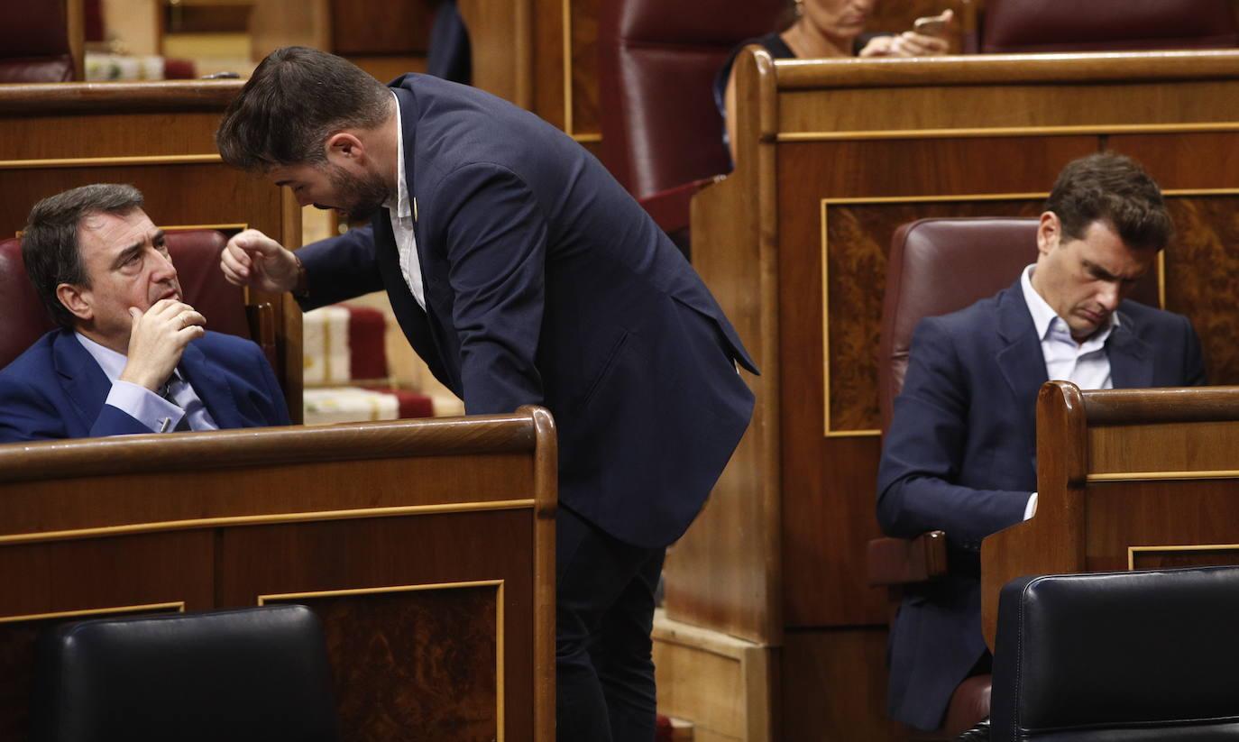 El nacionalismo catalán, dividido