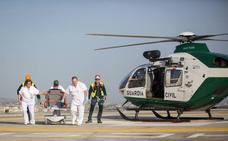 Las urgencias por las que se movilizan helicópteros hasta el hospital del PTS