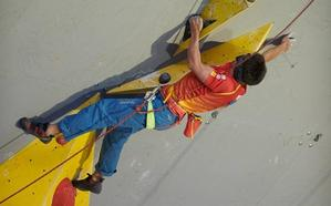 Un granadino colosal: Aguilar agranda su palmarés con una plata en el Mundial de paraescalada