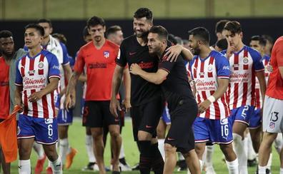 Los penaltis recompensan al Atlético ante el Chivas