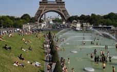 Una nueva ola de calor sofoca a Europa