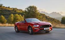 Ford Mustang55 V8, feliz aniversario