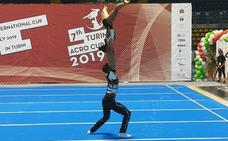 El Acróbatos firma un brillante papel en la Turín Acro Cup