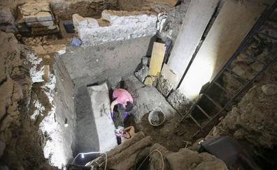 Los investigadores creen que un terremoto o una riada destrozó el sarcófago de Villamena