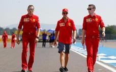 Un año de hundimiento de Vettel