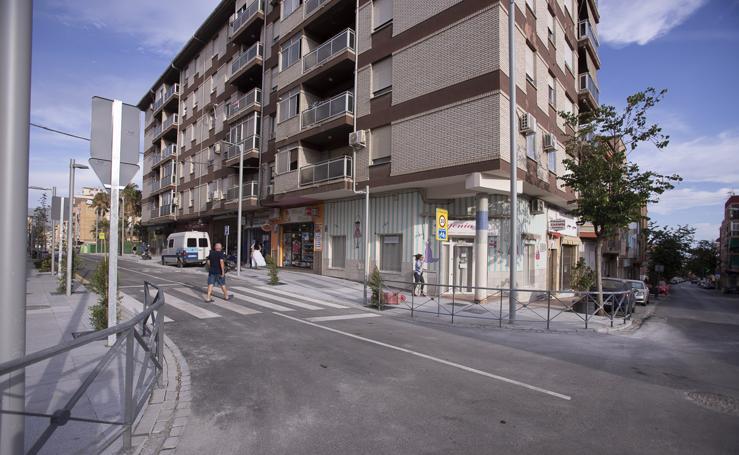 La calle Ancha se vuelve peatonal en su estreno