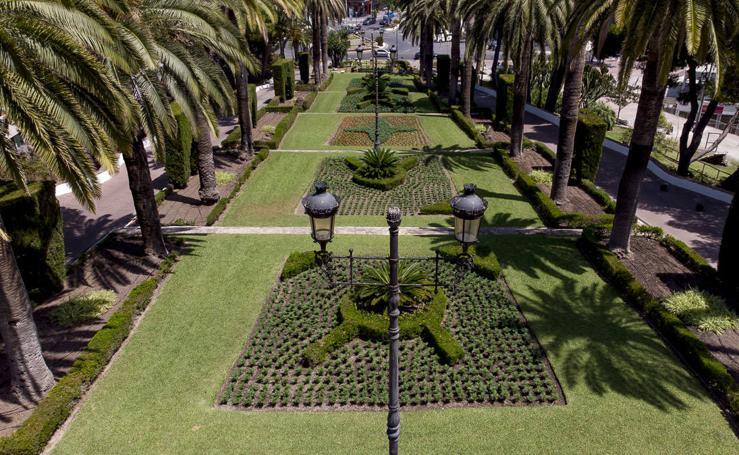 Así han quedado los jardines del Cerro de la Virgen de Motril