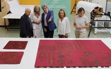 Cultura restaura tres banderas donadas por los Reyes Católicos a la Capilla Real de Granada