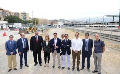 Comienzan las obras del aparcamiento de la estación de tren de Granada