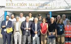El Puerto de Almería supera en un 7,2% el número de pasajeros en el ecuador de la OPE
