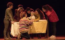 La obra 'Nana', premio del jurado el Encuentro de Aulas de Teatro Universitario