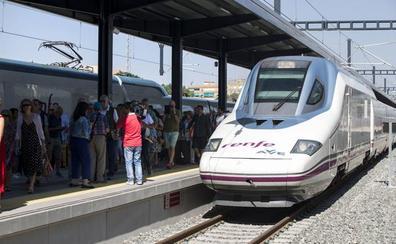 La huelga de Renfe afecta este miércoles a tres conexiones AVE entre Granada y Madrid