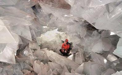 Abre la geoda de Pulpí, una joya única en el mundo