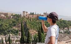 Granada, única provincia andaluza en nivel naranja por altas temperaturas durante tres días