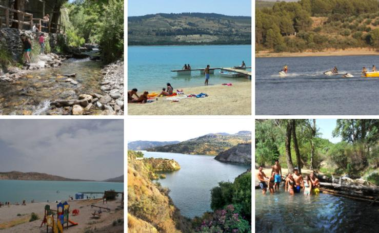 8 lugares para refrescarse en la provincia de Granada