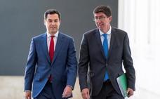 Moreno: «No es bueno que no tengamos Gobierno en España»