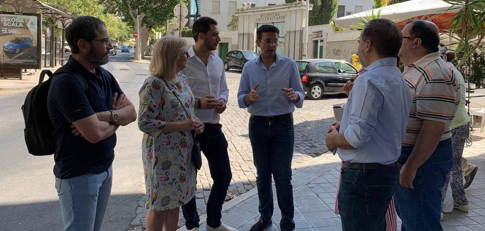 El PSOE pide al alcalde de Granada que «pelee» para que el Gobierno y la Junta asuman el soterramiento