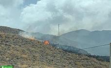 Extinguido un incendio forestal en Turre que ha calcinado 1,2 hectáreas de matorral