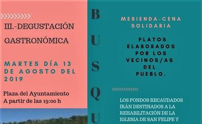 Vecinos de Busquístar participarán en la III Degustación Gastronómica con platos caseros con recetas de sus antepasados