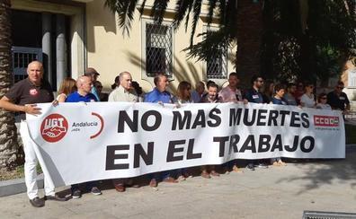 Los sindicatos claman tras las últimas muertes en el trabajo en Jaén