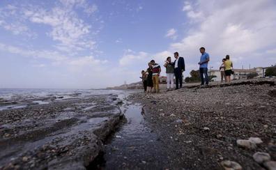 Costas descarta actuar en Carchuna, mientras la Junta dará ayudas a las playas afectadas