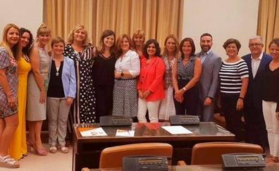 La diputada Laura Berja, portavoz del PSOE en la Comisión de Igualdad