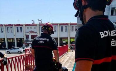 Bomberos y Policía Local de Jaén, en 'pie de guerra'