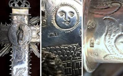 Los impresionantes detalles de la cruz de Albondón