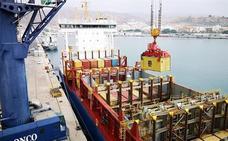 El puerto de Almería mueve 174.000 toneladas de mercancía en contenedores en el primer semestre