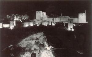 ¿Desde cuándo y cómo se ilumina la Alhambra?