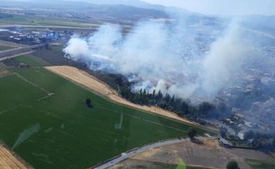Extinguido el incendio forestal en Pinos Puente