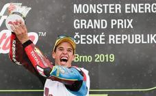 Alex Márquez: «Tenía claro que la carrera podía pasar por las primeras vueltas»