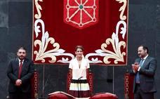 Chivite se pone «a disposición de Navarra» y asume la convivencia como «reto»