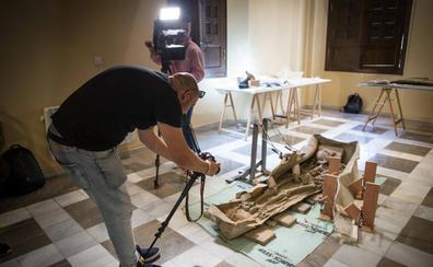 Al descubierto el sarcófago de Granada: un romano ilustre enterrado con sandalias de legionario