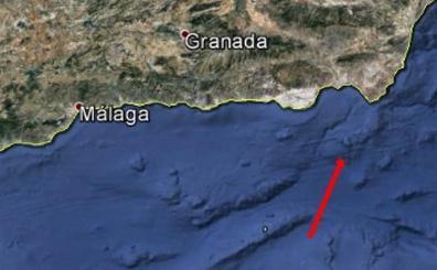 Una bola de fuego sobrevuela el Mediterráneo de madrugada