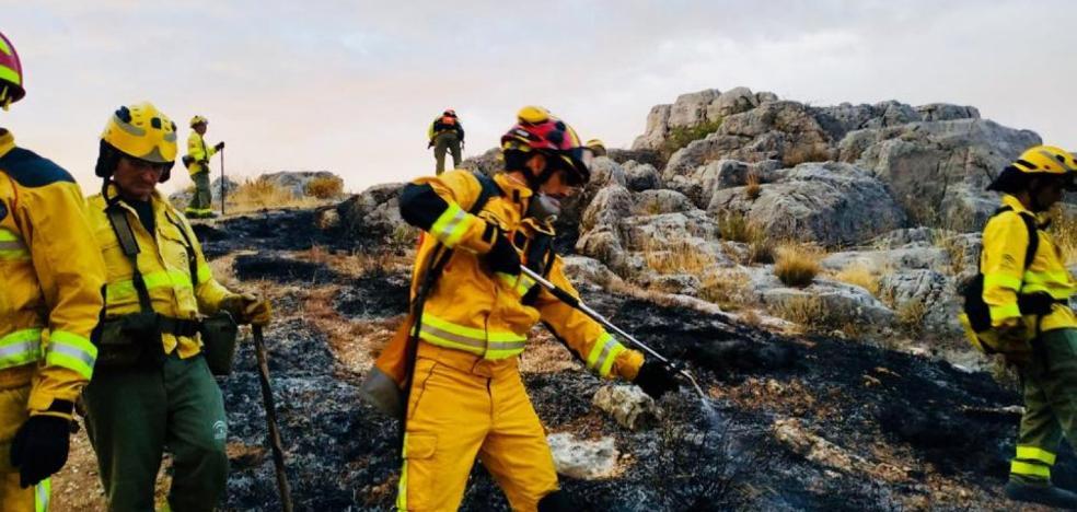 El intenso calor en la provincia de Jaén dispara el riesgo de incendio